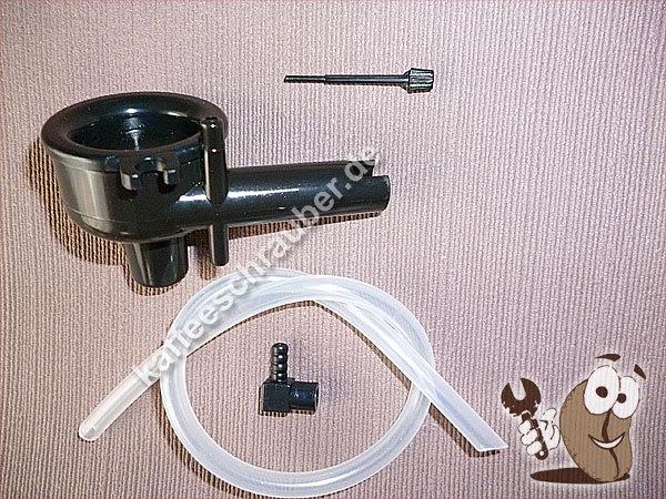 Regulierstift Stift für Saeco Cappuccinatore Aufschäumer in schwarz