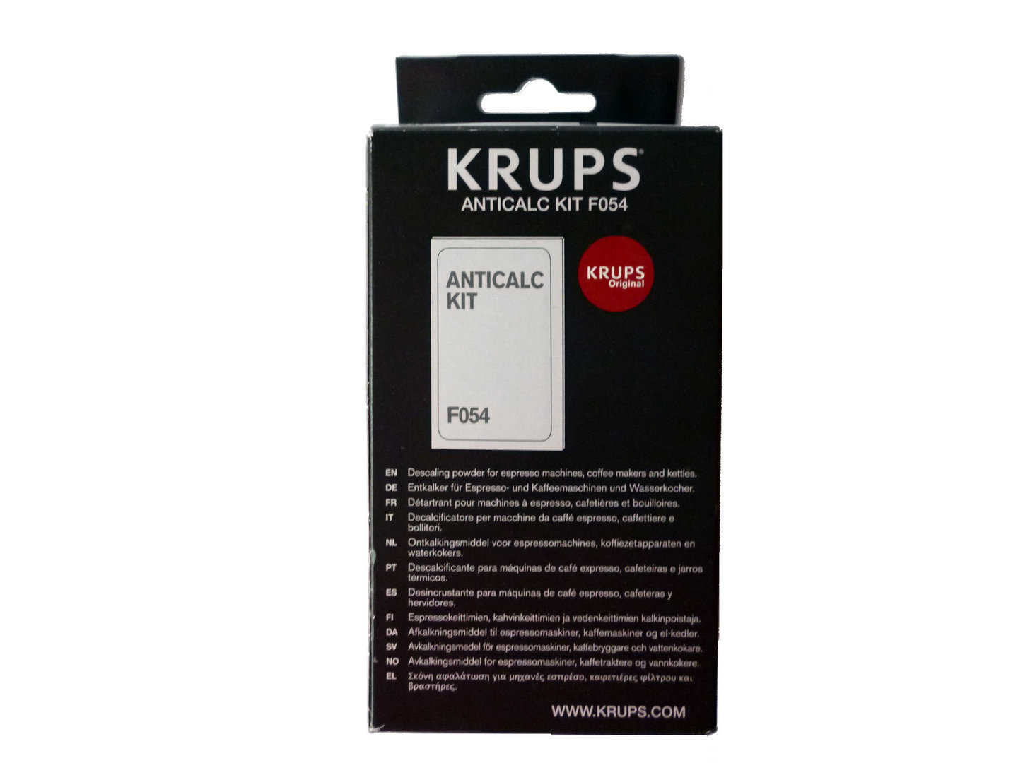 krups anticalc kit f054 instructions dolce gusto